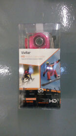 Vivitar DVR 781HD Action Camera With Mounts And Selfie Stick