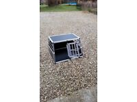 Dog cage , Car boot box . Unused