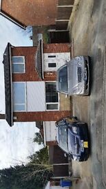double room to rent in very smart detached house quiet area, free parking , wifi, i am crb checked