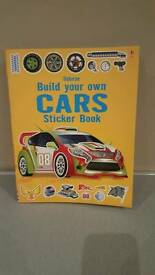 Build your own car sticker book £2