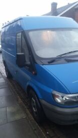 2006 MWB TRANSIT,EXC RUNNER, TOW BAR, NO MOT, £500 NO OFFERS ...BARGAIN