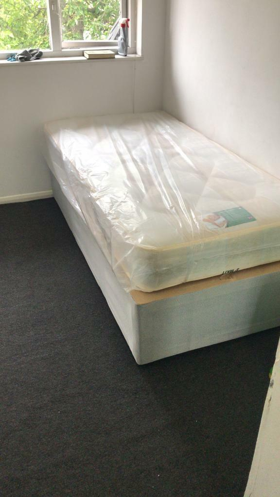 Picture of: Single Divan Bed And Mattress Brand New In Wembley London Gumtree