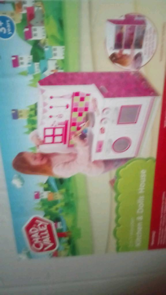 Kitchen and dolls house