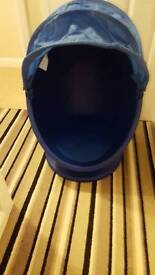 IKEA PS LÖMSK - Spinning Blue Egg Chair