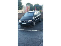 Vauxhall Zafira DTI Sale for repair or spares no MOT drive very well