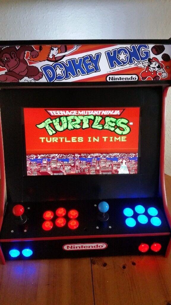 Retro Custom Arcade Machine **4000+ games - Nintendo - Sega -Aracde - playstation Games