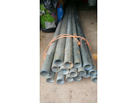 Galvanized / Steel pipes 10ft plus length