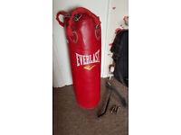 Everlast punching bag 3ft
