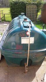 Balmoral heating oil tank. Free for uplift.