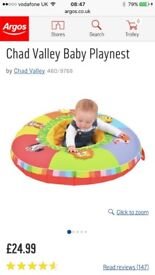Baby inflatable play nest