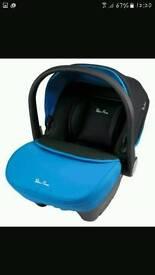 Silvercross blue car seat