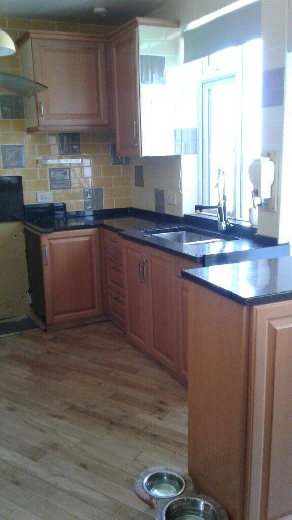Poggenpohl Kitchen Units granite worktop and extractor fan   in Barnstaple,  Devon   Gumtree