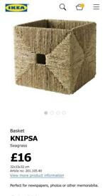 Ikea knipsa kallax box