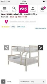 Trio bunk beds