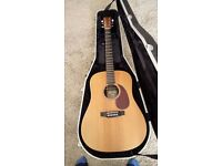 Martin DX1KAE , Electro-acoustic Guitar with hard case