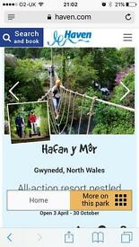 3 night stay at Hafan Y Mor - Aug bank hol weekend up to 8 people