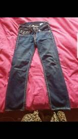 True religion jeans age 8
