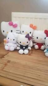 Hello Kitty teddy bears