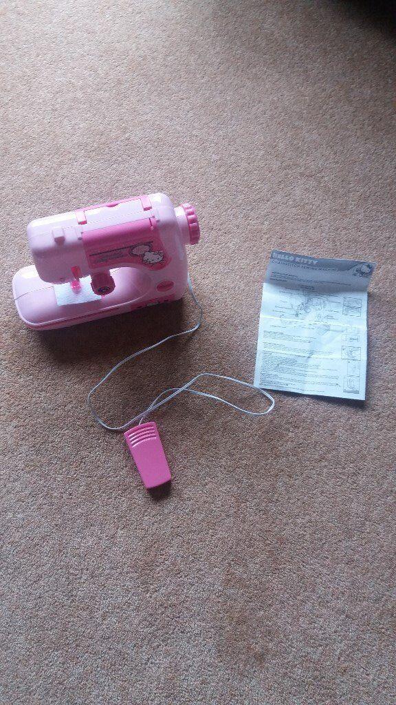 Hello Kitty Childs Sewing Machine