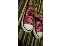Converse all star infant size 3