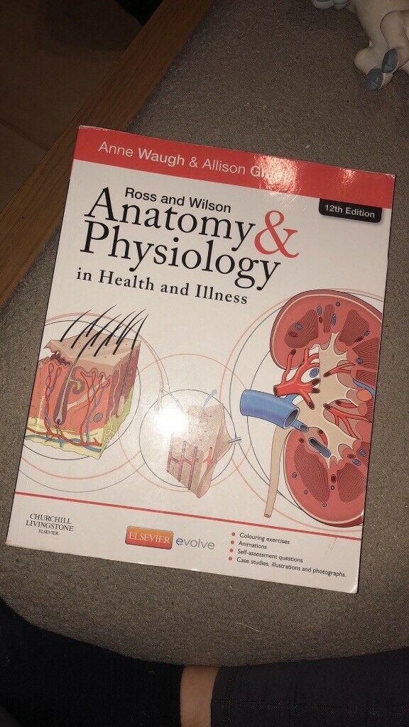 Nursing Studies Books Ross and Wilson Anatomy and Physiology | in ...