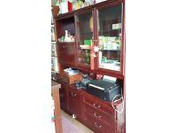 redwood shelf for sell