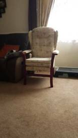 high wing chair