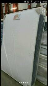 DOUBLE MEMORY FOAM MATTRESS. FREE DELIVERY