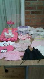 Large build a bear clothes bundle