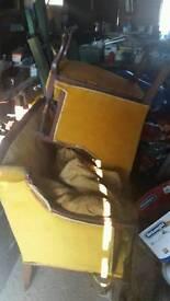 Georgian 2 seater chair