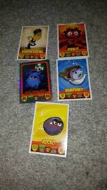 Super Moshi mash up game cards