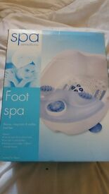 SOLD SPA SENSATIONS FOOT SPA