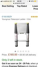 Tellescopic ladder