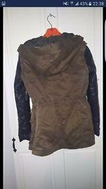 Zara jacket size 12
