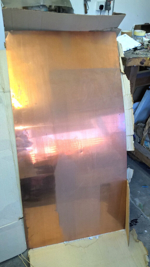 copper sheet 0.9mm 4 x 2 feet