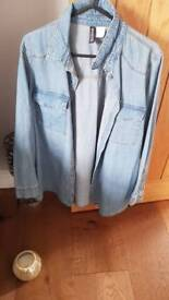 Ladies denim shirt size 10