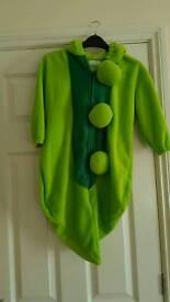 Baby pea in a pod sleeping bag/fancy dress costume