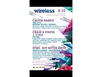 Wireless ticket