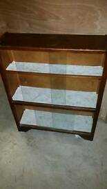 Small Vintage Display Cabinet