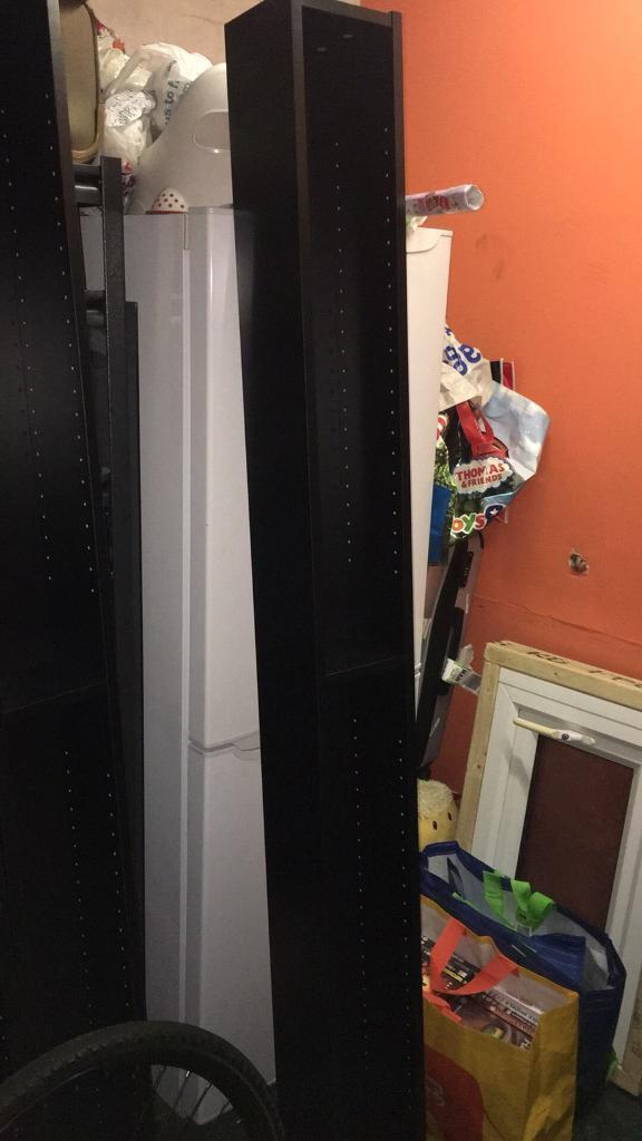 3x Ikea shelves