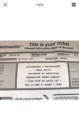 Craig David Concert Tickets Cardiff
