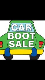 SATURDAY AFTERNOON WOODFIELD CAR BOOT SALE