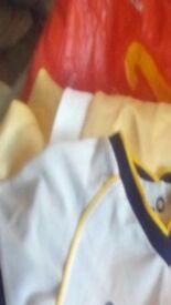 Baby's Leeds United kit brand new