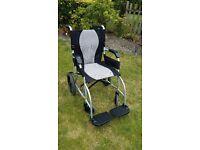 Ultra Lite Transit Wheelchair - KARMA KM-2512