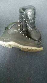 Mens Safety Boots size 8 Black