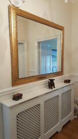 Barker and Stonehouse large gold over mantle mirror