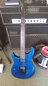 Left Handed Peavey Electri Guitar