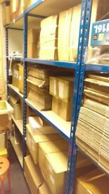 180 x 90 x 40cm Shelving / Metal Racking in Blue , £25 for each