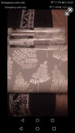 4 rolls of brand new wallpaper in charcoal. Same batch number