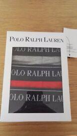 Ralph Lauren 3 Pairs of Boxer Shorts - Size Large
